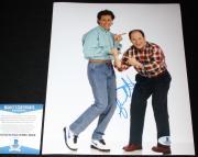 Jason Alexander signed 8 x 10, George Costanza, Seinfeld, Beckett BAS B05818