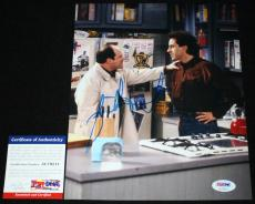 Jason Alexander signed 8 x 10, George Costanza, Seinfeld, PSA/DNA AC79211
