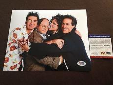 Jason Alexander Signed 8x10 photo PSA DNA Authenticated George Costanza Seinfeld