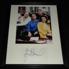 Jason Alexander Signed Framed 11x14 Photo Display w/ Seinfeld Cast
