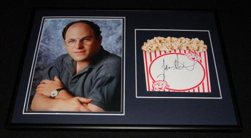 Jason Alexander Signed Framed 12x18 Photo Display Seinfeld George Costanza