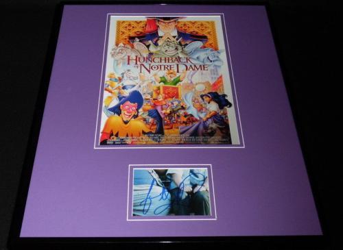 Jason Alexander Signed Framed 16x20 Hunchback of Notre Dame Poster Display JSA