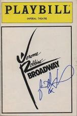 JASON ALEXANDER signed JEROME ROBBINS' - BROADWAY - 1989 playbill