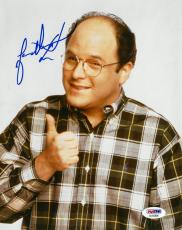 Jason Alexander Signed Seinfeld Authentic Autographed 8x10 Photo PSA/DNA#AC55806