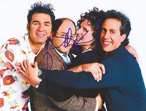 "JASON ALEXANDER Signed SEINFELD ""George"" 8X10 PHOTO w/COA"