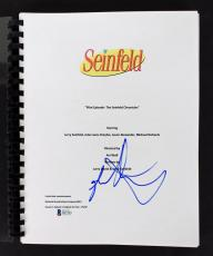 Jason Alexander Signed Seinfeld TV Pilot Script BAS #D07585