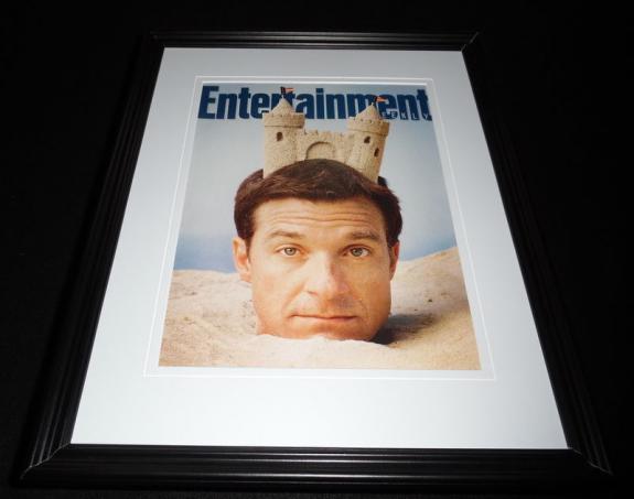 Jason Bateman Framed 11x14 ORIGINAL 2011 Entertainment Weekly Cover C