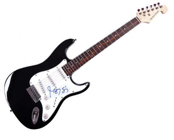 Jason Biggs Autographed Signed American Pie Guitar UACC RD COA AFTAL