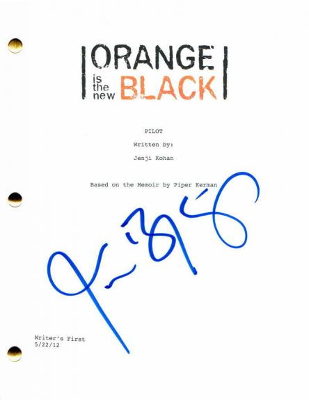 Jason Biggs Signed Autograph Orange Is The New Black Pilot Script - American Pie