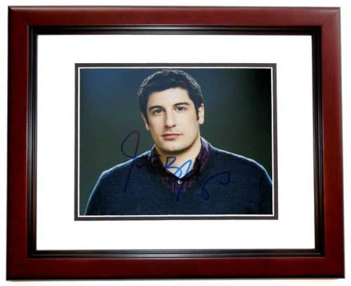 Jason Biggs Signed - Autographed Orange is the New Black - American Pie Actor 8x10 inch Photo MAHOGANY CUSTOM FRAME - Guaranteed to pass PSA or JSA