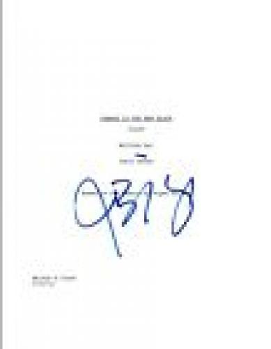 Jason Biggs Signed Autographed ORANGE IS THE NEW BLACK Pilot Script COA VD