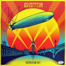 Jason Bonham Led Zeppelin Signed Celebration Day Box Set Insert PSA/DNA #AC17138