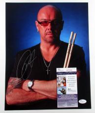 Jason Bonham Signed 11x14 Color Photo (Pose #1) JSA AUTO