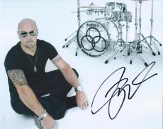 Jason Bonham Signed Autographed 8x10 Photo Drummer of Led Zeppelin D