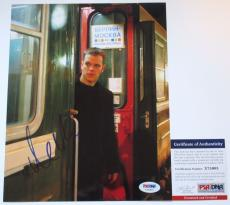 JASON BOURNE!!! Matt Damon Signed THE BOURNE SUPREMACY 8x10 Photo #1 PSA/DNA