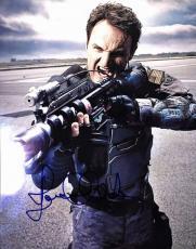 Jason Clarke Terminator Genisys Signed 11X14 Photo BAS #B91343