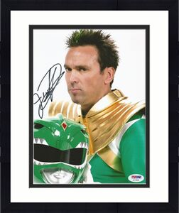 Jason David Frank Green Power Rangers Tommy Signed 8x10 Photo PSA/DNA COA (K)