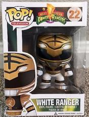 Jason David Frank JDF POWER RANGERS Signed Funko POP White Ranger PSA/DNA COA