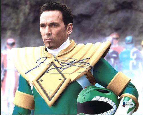 Jason David Frank Power Rangers Signed 8X10 Photo BAS #B81282