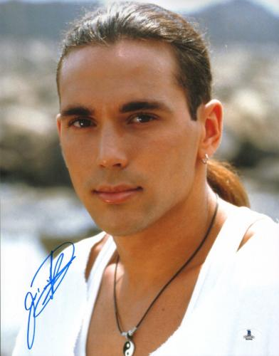 Jason David Frank Signed 11x14 Photo BAS COA Mighty Morphin Power Rangers Auto 1