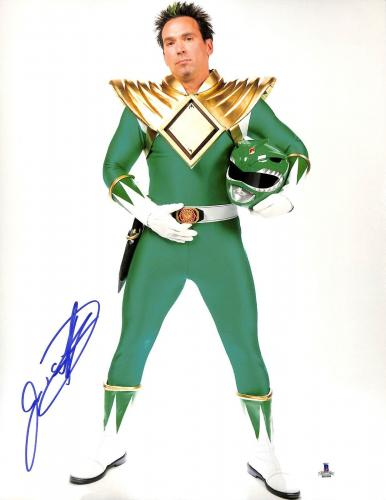 Jason David Frank Signed 11x14 Photo BAS COA Mighty Morphin Power Rangers Auto 2