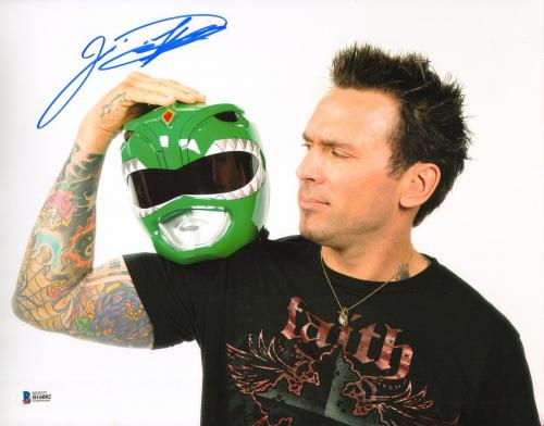 Jason David Frank Signed 11x14 Photo BAS COA Mighty Morphin Power Rangers Auto 3