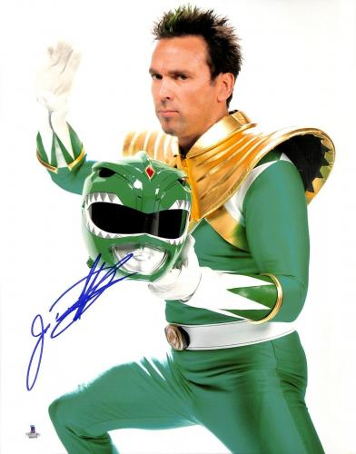 Jason David Frank Signed 11x14 Photo BAS COA Mighty Morphin Power Rangers Auto'd