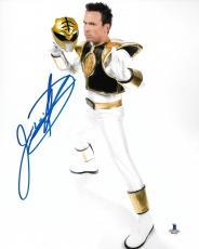 Jason David Frank Signed 8x10 Photo BAS Beckett COA Mighty Morphin Power Rangers