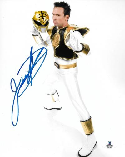 Jason David Frank Signed 8x10 Photo BAS Beckett COA Mighty Morphin Power Rangers
