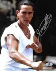 Jason David Frank Signed 8x10 Photo BAS COA Mighty Morphin Power Rangers Auto'd