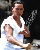 Jason David Frank Signed 8x10 Photo BAS COA Mighty Morphin Power Rangers Auto'd