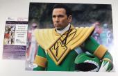 JASON DAVID FRANK signed 8x10 Photo Mighty Morphin Power Rangers GREEN JSA
