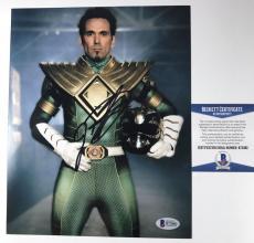 JASON DAVID FRANK signed 8x10 Photo Power Rangers GREEN RANGER TOMMY Beckett BAS