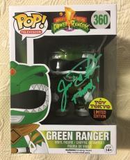 Jason David Frank Signed Autographed Green Ranger Exclusive Funko Pop BECKETT