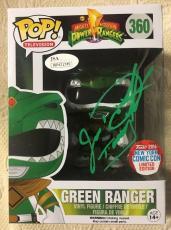 Jason David Frank Signed Autographed Green Ranger Exclusive Funko Pop JSA COA 1