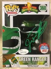 Jason David Frank Signed Autographed Green Ranger Exclusive Funko Pop JSA COA