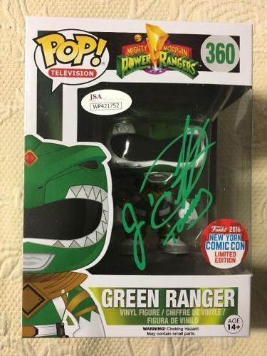 Jason David Frank Signed Autographed Green Ranger Exclusive Funko Pop JSA COA 2