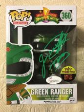 Jason David Frank Signed Autographed Green Ranger Exclusive Funko Pop JSA COA 4