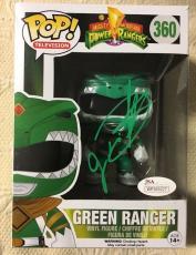 Jason David Frank Signed Autographed Green Ranger Funko Pop JSA COA