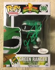 Jason David Frank Signed Autographed Green Ranger Funko Pop JSA COA 3