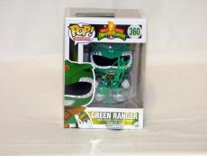 Jason David Frank Signed Autographed Power Rangers Green Ranger Funko Pop Jsa