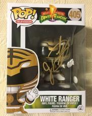 Jason David Frank Signed Autographed White Ranger Funko Pop JSA COA 5