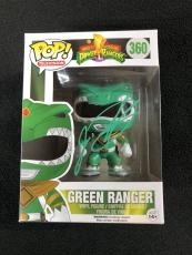 Jason David Frank Signed Green Mighty Morphin Power Ranger Funko Pop Figure