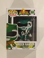 Jason David Frank Signed Green Ranger Funko Pop Vinyl Figure Exact Proof