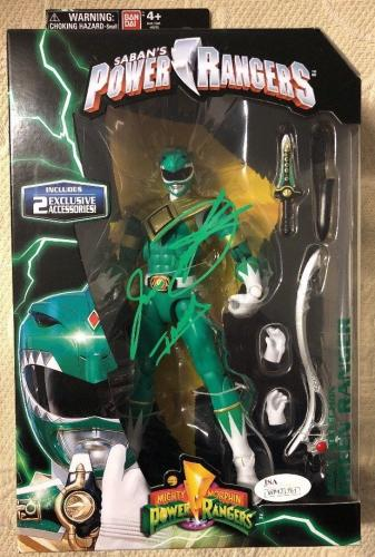 Jason David Frank Signed  Green Ranger Power Rangers Legacy Figure JSA COA 1
