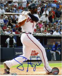 "Jason Heyward Atlanta Braves Autographed 8"" x 10"" Photograph - Mounted Memories"