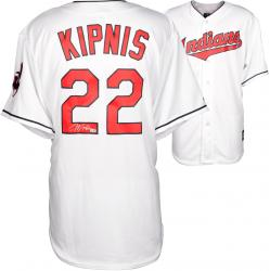Jason Kipnis Cleveland Indians Autographed Majestic Replica White Jersey