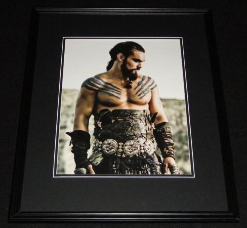 Jason Momoa Game of Thrones Framed 11x14 Photo Poster