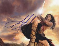Jason Momoa Signed 8x10 Photo w/COA Game of Thrones Conan the Barbarian