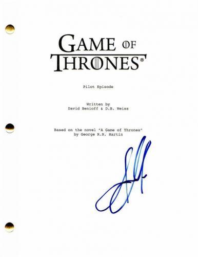 Jason Momoa Signed Autograph - Game Of Thrones Pilot Script - Khal Drogo Aquaman